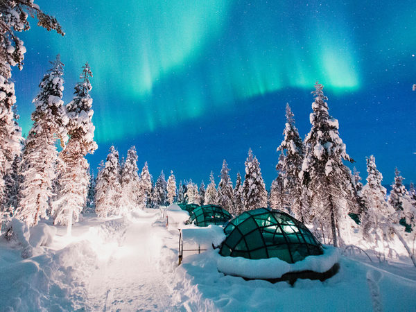 The Five Best Places To See The Northern Lights Qantas