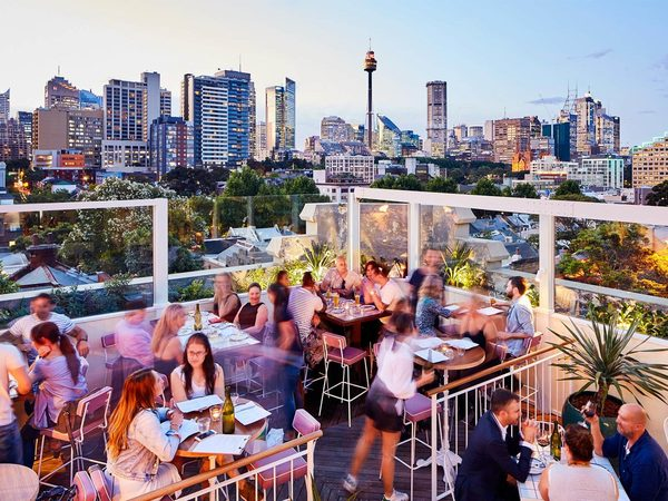 The best rooftop bars in sydney with a view qantas for 10 york terrace east london